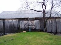 The Monroeville Barn before restoration.