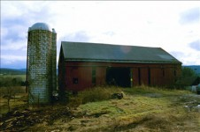 The Latrobe Barn before restoration.