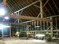 The Hall Barn before restoration.