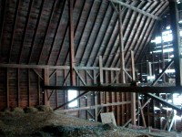 The Cobleskill Barn before restoration.
