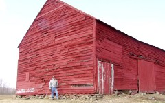 The Charleston Barn before restoration.