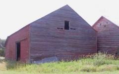 The Meyer Barn before restoration.